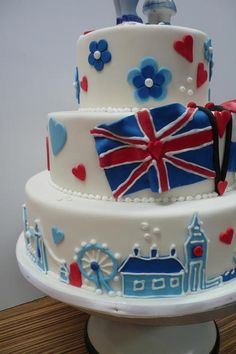Cake Decorating Schools Uk : 1000+ images about Best of British Cakes on Pinterest ...