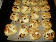 Tvarohové batôžky (fotorecept) - Recepty - Varecha.sk Czech Recipes, Russian Recipes, Doughnut, Muffin, Breakfast, Polish, Drinks, Basket, Morning Coffee
