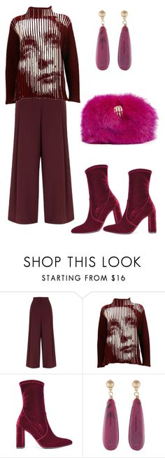 """""""1597"""" by explorer-14809378428 ❤ liked on Polyvore featuring River Island, Jean-Paul Gaultier, Stuart Weitzman and Benedetta Bruzziches"""