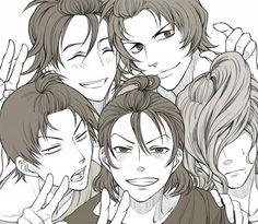 Such pretty. Makishima's hair's a beast. :P