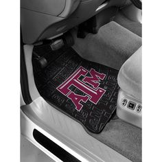 Texas A&M Aggies Car Front Floor Mats (2 Front) (17x25)