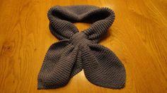 Een poos geleden liet ik eens het patroon zien van een zgn. Ascot-sjaaltje: Van Cathrien kreeg ik dit patroontje van een heel klassiek sja...