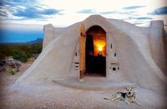 Looking for a Texas getaway that's truly one-of-a-kind? Try spending the night in a handmade adobe dome near the stunning scenery of Big Bend National Park.