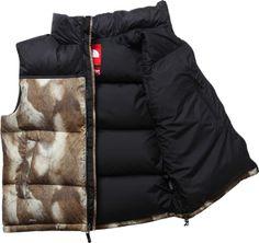 "Supreme x The North Face ""Fur"" Nuptse Jacket & Vest"