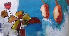 "Saatchi Art Artist Birgit Maria Nagengast; Painting, ""Flower escape"" #art"
