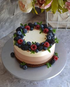 - - - Best Picture For best Pastry Recipes For Your. Best Pastry Recipe, Pastry Recipes, Cake Recipes, Dessert Recipes, Bolo Vegan, Cake Decorated With Fruit, Birthday Cakes For Women, Dessert Decoration, Occasion Cakes