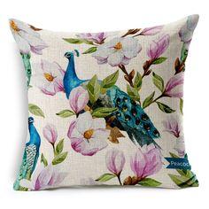 Solar Hot Sale Pop Fruit Tropical Fashion Pillow Painted Pillowcase Rural Flax Pineapple Fine Quality Power Source