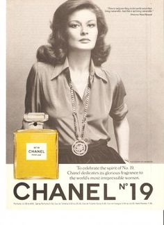 Another seventies sell of a classic.  Good fragrance too, very heady.