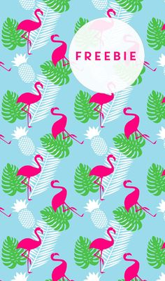 ★ Flamingo DIY-Geschenkpapier {Freebie} - miomodo DIY Blog