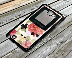 floral gameboy - iPhone 4/4S/5/5S/5C, Case - Samsung Galaxy S3/S4/NOTE/Mini, Cover, Accessories,Gift