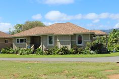 The finished product! Be a part or our village and own a piece of the island. New homes for sale on the North Shore Oahu, Hawaii in Kahuku. Visit KahukuVillage.com for more information.