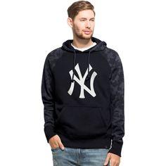 3c731961f44 Men s New York Yankees  47 Navy Stealth Hoodie