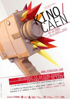 Kino Caen 2012 (© Alix Auvergeat) #affiche #affichefestival #festival