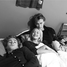 "((Open rp/Nora)) I decided that I wanted to hang out with isak and his friend even just to get my mind off of things for a while they were nice and fun people we had our ups and downs but its okay. They always know how to have fun. I was laying down and me and Evan were looking at funny photos while isak tried to sleep ""To tired!"" I say poking isak. Isak groaned and closed his eyes again Evan laughed ""He tried to pull an all nighter last night"" I laugh when you walk in"