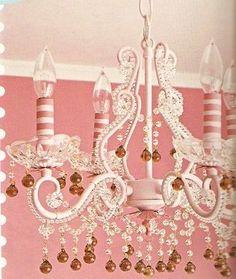 pink♥chandelier