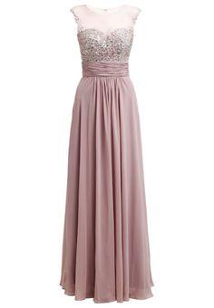e4e636b7646  Luxuar  Fashion  Ballkleid  taupe für  Damen - Kleid Hochzeit
