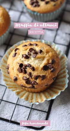 Ti sono avanzati degli albumi durante la preparazione di un dolce? Non buttarli, utilizzali per realizzare dei buonissimi #muffin! #fefahomemade Muffin Recipes, Cake Recipes, Nutella Muffin, Morning Glory Muffins, Donut Muffins, Sweet Corner, Cake & Co, Cheesecake Desserts, Cupcakes