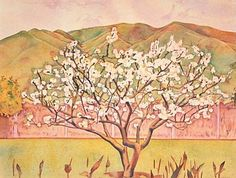 Tree in Blossom by Rita Angus