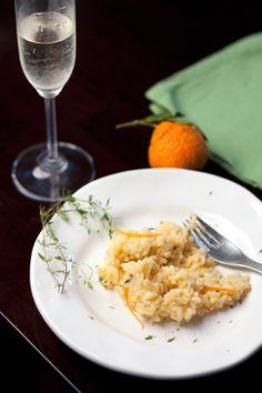 mandarin orange risotto