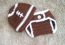 On SaleBaby Boy or Girl Football Beanie Hat and by newmarketmom, $18.00