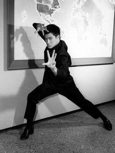 Bruce Lee: Founder of jeet kune do.