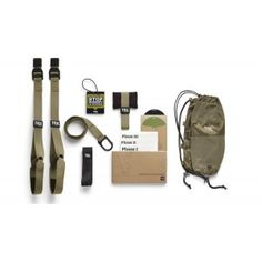 TRX FORCE Kit: Tactical is the extensive 12-week progressive program and workout equipment used by the US military, first responders and MMA fighters to build strength, power, mobility and core stability. Includes the TRX Tactical Suspension Trainer, TRX FORCE Training DVD. The Tactical Suspension Trainer is the most versatile and rugged Suspension Trainer available. The updated ultra-durable TRX Tactical Suspension Trainer provides fast,