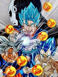 Goku and Vegeta = Vegito Dragon Ball Z, Dragon Z, Dbz, Sheng Long, Anime Echii, Gogeta And Vegito, Z Wallpaper, Goku Vs, Anime Tattoos