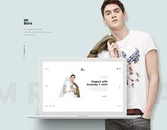 Ознакомьтесь с этим проектом @Behance: «Mr.Bara - Fashion Minimal Concept» https://www.behance.net/gallery/41551851/MrBara-Fashion-Minimal-Concept