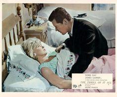 The Thrill of It All Doris Day James Garner Lobby card