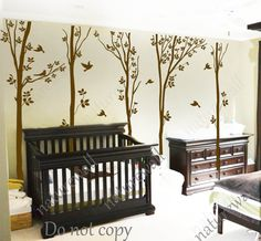 nursery decals Forest  Decals Kids wall decals baby by NatureWall, $89.00