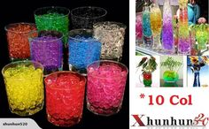 Crystal Soil Water Pearls Jelly Balls Beads* 100g | Trade Me