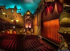 The great old THEATERs!  Keith Albee Theater, Huntington, WV