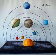 Kosmos - New Ideas Solar System Projects For Kids, Solar System Activities, Solar System Crafts, Science Projects For Kids, Space Activities, Science Experiments Kids, Science For Kids, School Projects, Activities For Kids