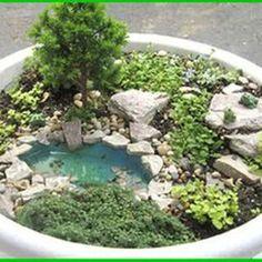 Stunning Fairy Garden Miniatures Project Ideas 55
