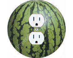 Watermelon Kitchen Decor | Kitchen: Wall Plates - Watermelon