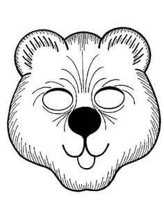 Masks coloring page 20