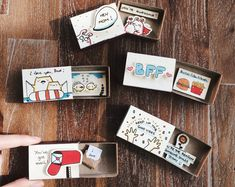 Pick any 5 matchbox-cards for $29 (SAVE $6)!!! *** ONLY APPLICABLE FOR MATCHBOX-CARDS RETAIL AT $6.99 *** -------- Please leave the links of the cards you want in the note to seller section at checkout (once you enter your cart). See all matchbox-card listings here: https://www.etsy.com/shop/3XUdesign?ref=hdr_shop_menu&section_id=19374047 https://www.etsy.com/shop/3XUdesign?ref=hdr_shop_menu&section_id=19326675 https:&#x2...