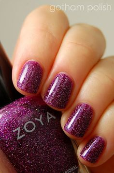 A special day calls for a special polish! Here's Zoya Nail Polish in Aurora - just try keeping your eyes off that glitter!