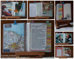 Travel Journal, fantastic idea.