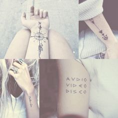 Cute indie tattoos tumblr