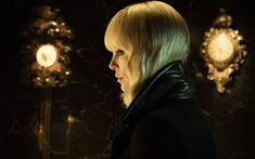Download wallpapers Atomic Blonde, 2017, Charlize Theron, Lorraine Broughton