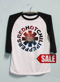 Red Hot Chili Peppers Shirt Rock Band Tshirt Long by Pennapa8899