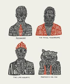 I am AMAZED at the talent within my friend Kyle Steed! Love these  The Many Faces of Bill Murray