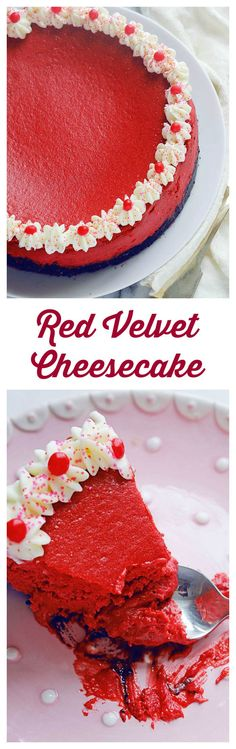 Red Velvet Cheesecake | Grandbaby Cakes