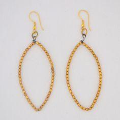 Bead tear drop earrings Fair Trade Clothing, Teardrop Earrings, Beads, My Style, Handmade, Beautiful, Collection, Jewelry, Women