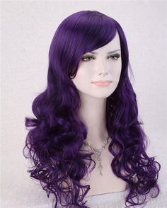 Free shipping, $23.61/Piece:buy wholesale  Wholesale Wigs Fashion Cute Women Girls 70CM Long Curly Coplay Party Wig Purple Free ShippingCool2day,0.3KG,BJF011546 on soler2's Store from DHgate.com, get worldwide delivery and buyer protection service.