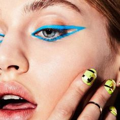 Master Winter's Graphic Eyeliner Trend At Home