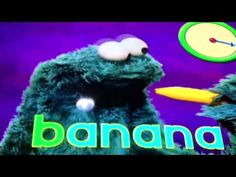 Sesame Street Telly Oscar and the letter B