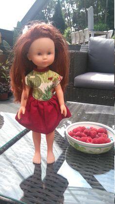 Jurk voor Corolle mes cheries  https://www.etsy.com/listing/472068815/cactus-doll-dress-for-les-cheries