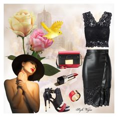 """With class"" by lamipaz ❤ liked on Polyvore featuring Valentino, Pour La Victoire, Michael Kors, Ermanno Scervino, women's clothing, women, female, woman, misses and juniors"